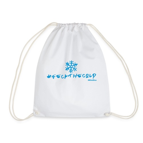 Feck The Cold - Drawstring Bag