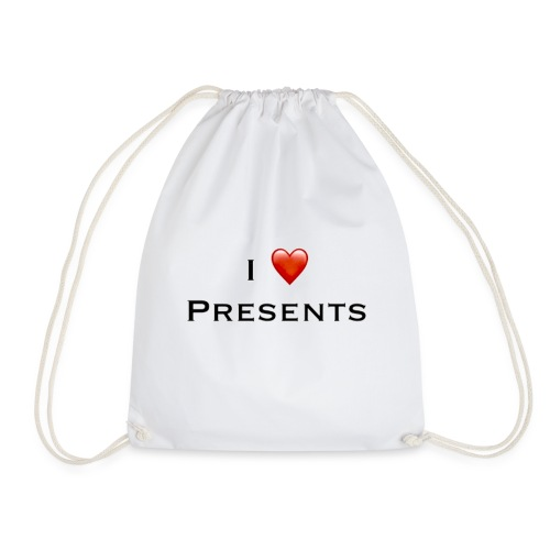 I Love Presents - Drawstring Bag