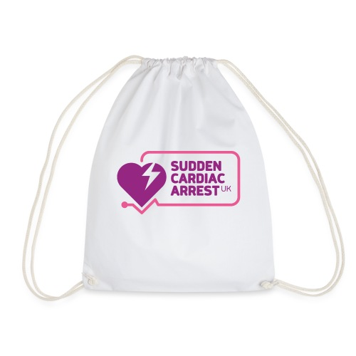 SCA UK Purple Logo - Drawstring Bag