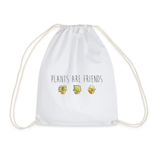 Plants are friends - Turnbeutel