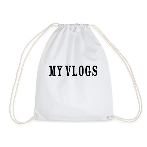 My Vlogs - Drawstring Bag