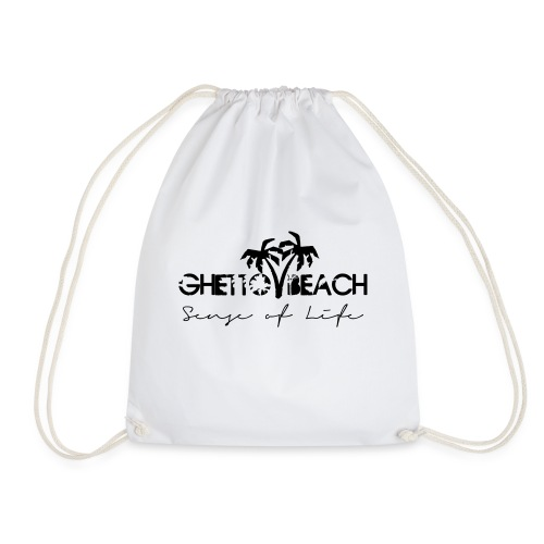 Ghetto Beach Logo - Turnbeutel