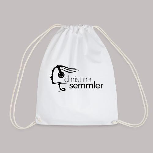 Christina Semmler Logo/ komplett - Turnbeutel