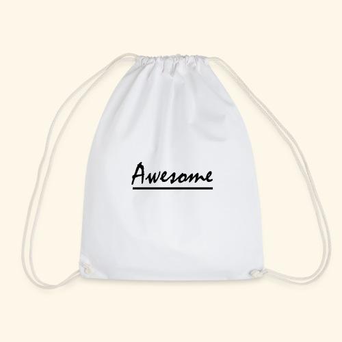 Awesome - Drawstring Bag