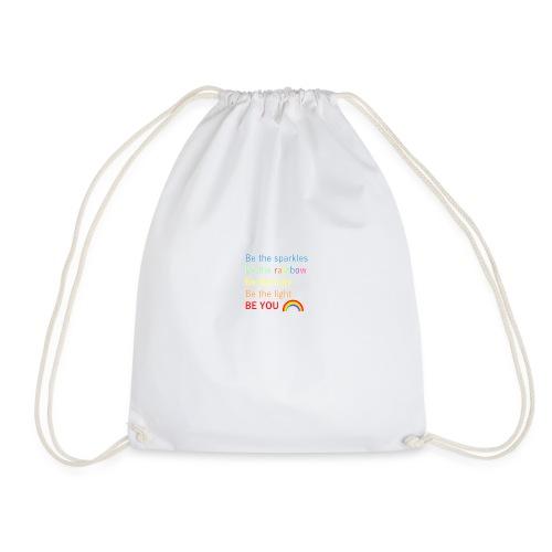 Be the sparkle - Drawstring Bag