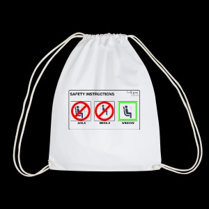 Windowseat Safety Instructions - Drawstring Bag