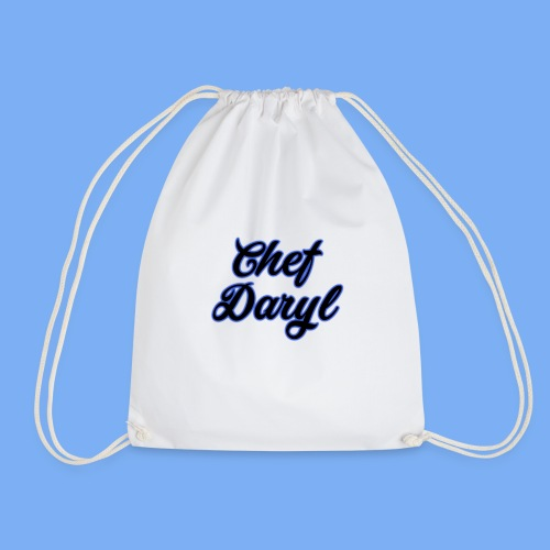 chef daryl design - Drawstring Bag