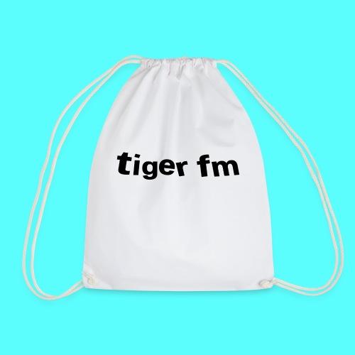 tiger fm logo - Turnbeutel