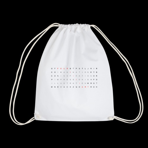Word search It... - Drawstring Bag