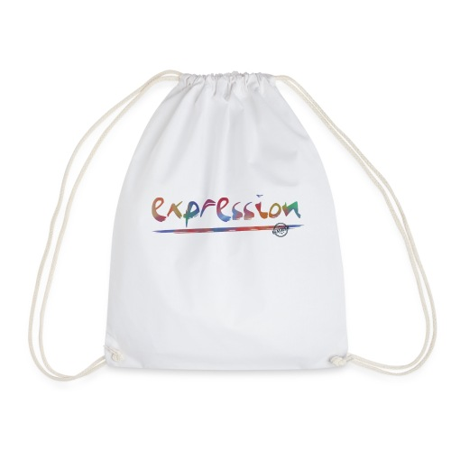 Expression typography - Drawstring Bag