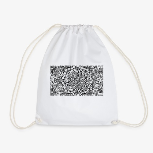 mandala1 - Drawstring Bag
