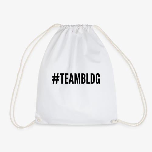 Team BLDG schwarz - Turnbeutel