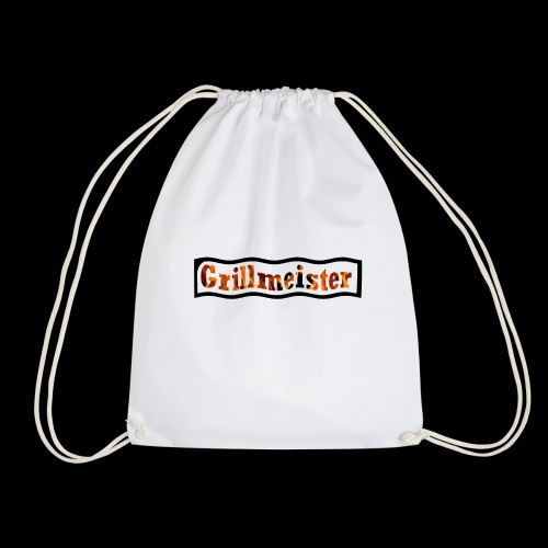 Grillmeister Logo. Für jeden der gerne grillt. - Turnbeutel