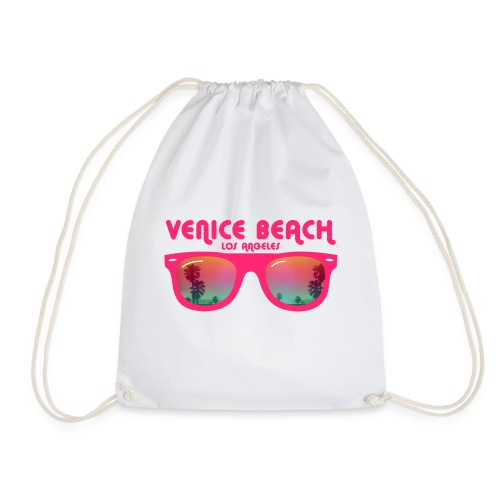 Venice Beach Los Angeles - Drawstring Bag