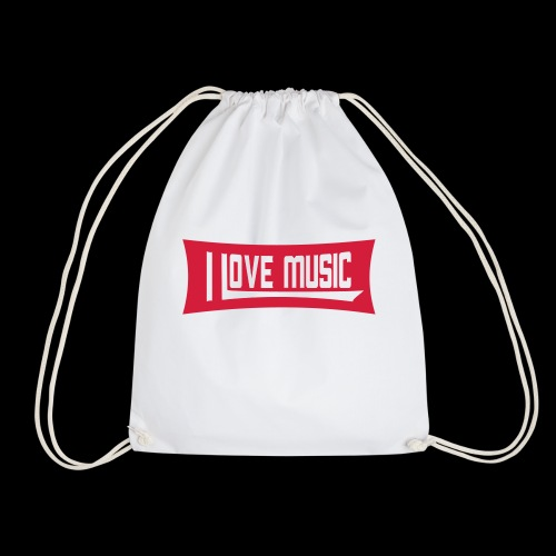 Ich liebe Musik - Turnbeutel