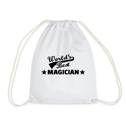 Worlds Best Magician - Drawstring Bag