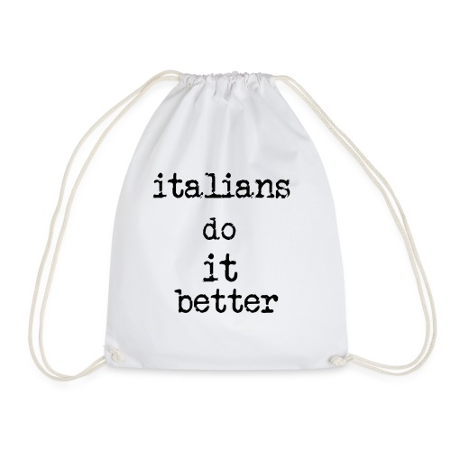 Italy - Sacca sportiva