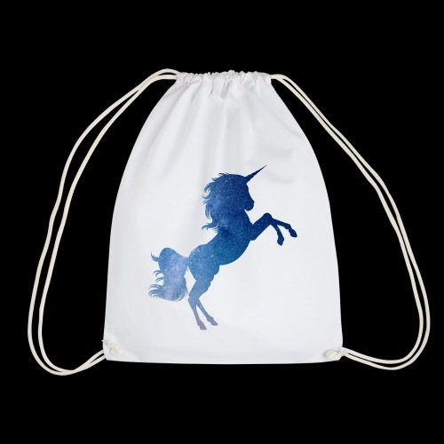 Galaxy Unicorn - Blue - Turnbeutel