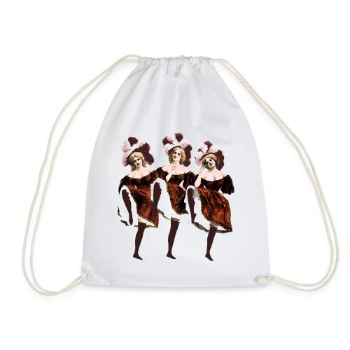 Vintage Dancers - Drawstring Bag