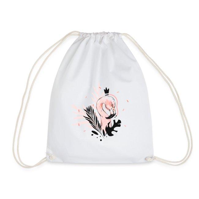 Queen of flamingos