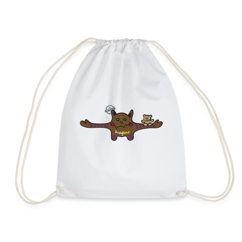 Hug me Monsters - Every little monster needs a hug - Drawstring Bag