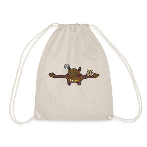 Hug me Monsters - Every little monster needs a hug - Drawstring Bag