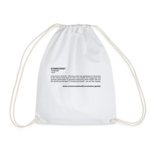 Conscivist Definition - Drawstring Bag