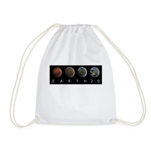 Mars Transformation - Weltraum Universum Geschenk! - Turnbeutel