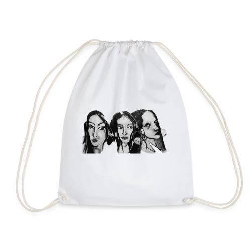 Drei Frauen - Turnbeutel