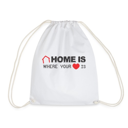 Home is Where your Heart Is - Mochila saco