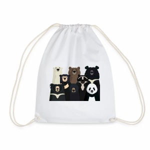 Bears of the world - Drawstring Bag