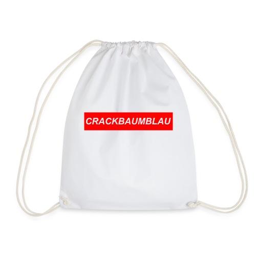 CrackBaumBlau (LOGO) - Turnbeutel