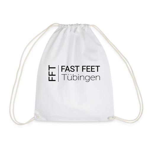Fast Feet Tübingen - Text-Logo - Turnbeutel