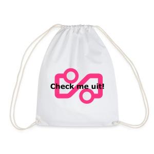 Check me Uit! - Drawstring Bag