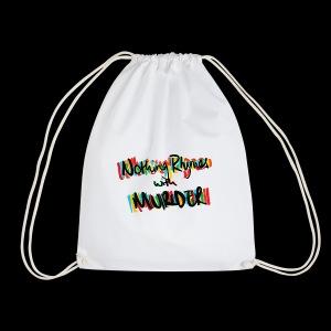 NRWM Podcast Original Logo - Drawstring Bag