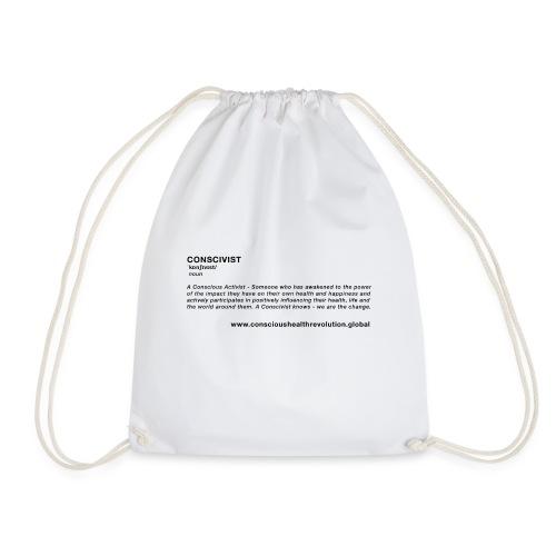 Conscivist Definition - Drawstring Bag