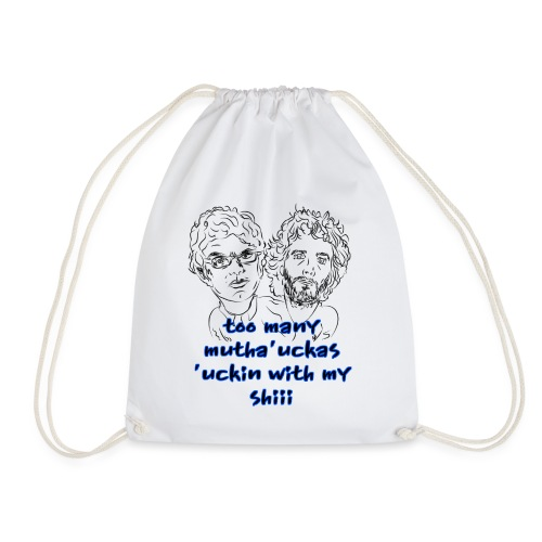 Mutha Ucka Flight of the Conchords - Drawstring Bag