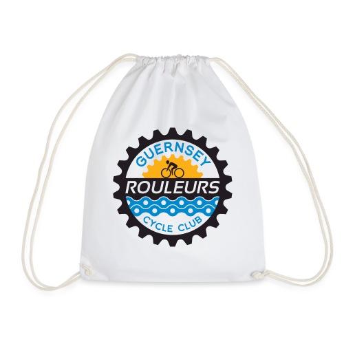 Guernsey Rouleurs Logo - Drawstring Bag