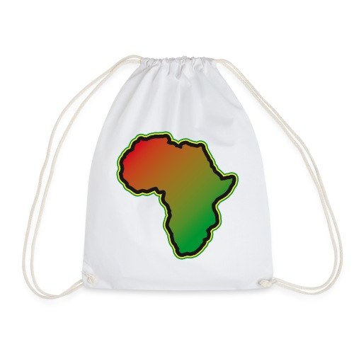 Afrika Big Five Africa Schwarzer Kontinent Safari - Drawstring Bag