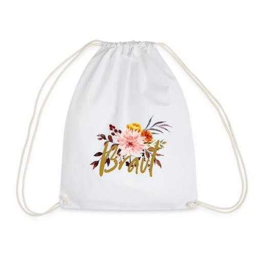 Braut - JGA - Florale Serie - Turnbeutel