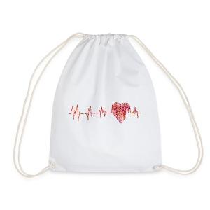 Electrocardiogram - Drawstring Bag