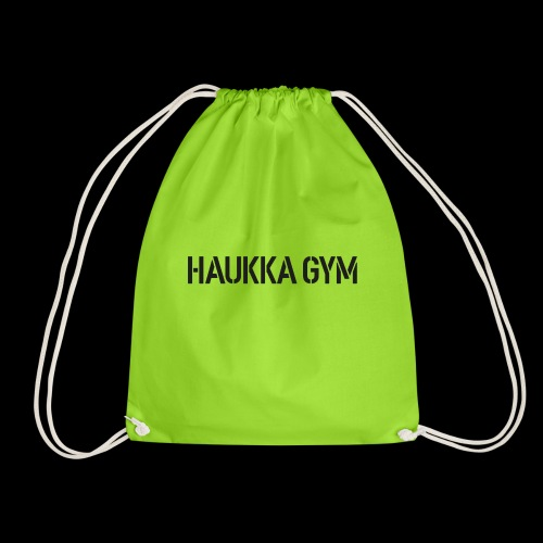 HAUKKA GYM text - Jumppakassi