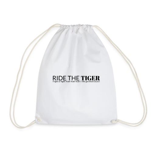 Ride the tiger logo black - Sac de sport léger