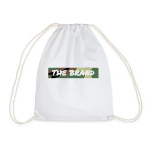 LIMITED EDITION CAMO BOX LOGO - Drawstring Bag