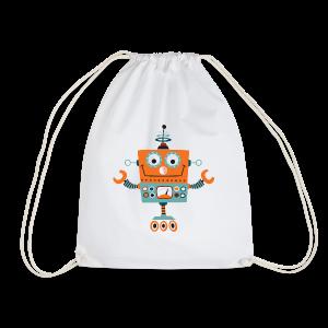 ROBOT 01 - Drawstring Bag