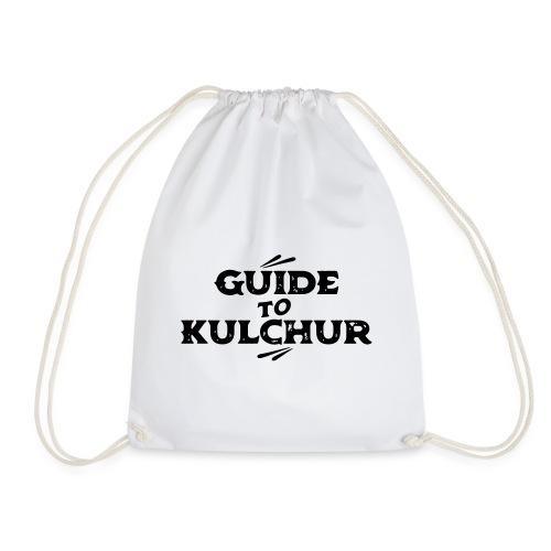 Guide to Kulchur - Drawstring Bag