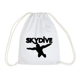 Skydive Silhouette - Turnbeutel