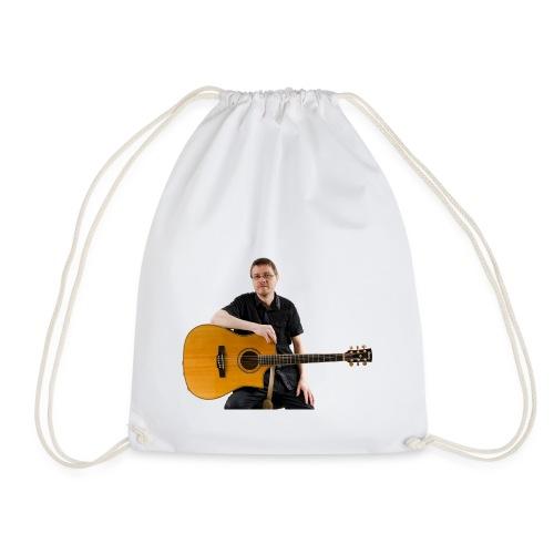 Johan with guitar - Drawstring Bag