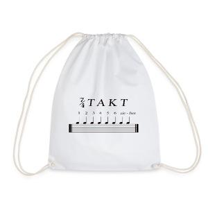 Schlagzeuger T-Shirt - Sieben Viertel Takt - Turnbeutel