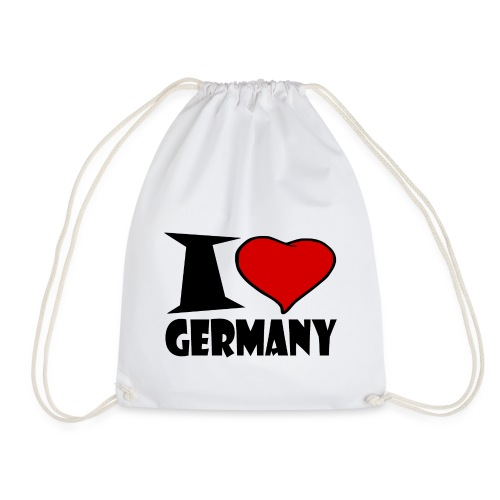 Ich Liebe Deutschland - Germany - Turnbeutel
